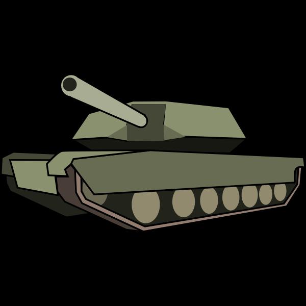 Tank vector graphics