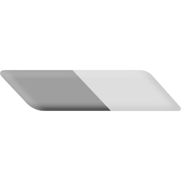Two-sided eraser vector image