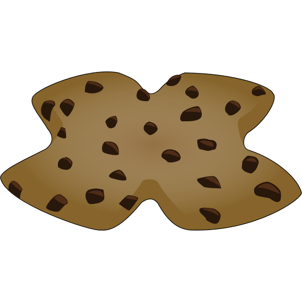 """X"" Shaped Cookie"