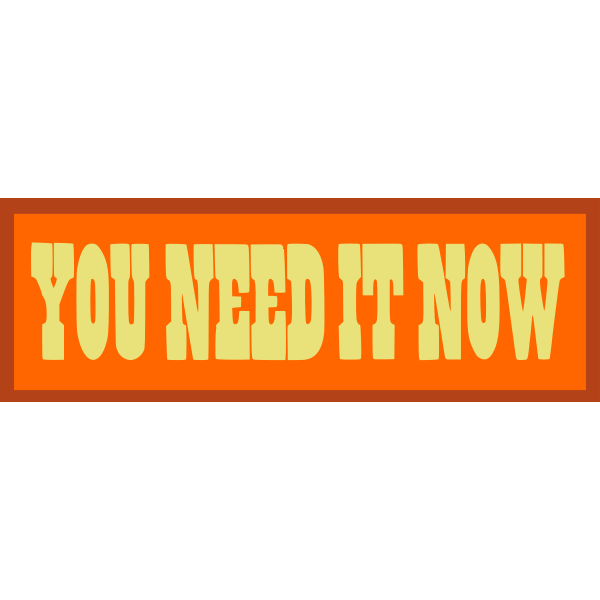 youneeditnow text