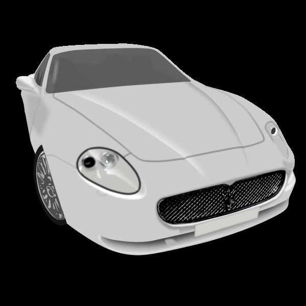 Vector illustration of luxury vehicle