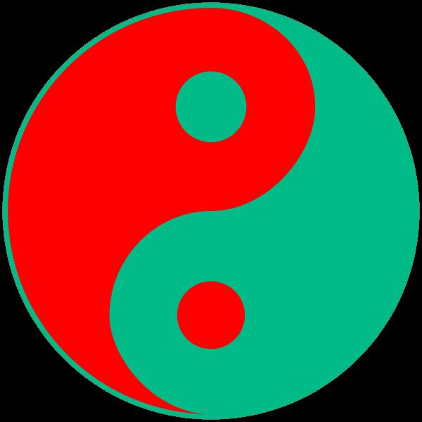 Colorful Yin-Yang