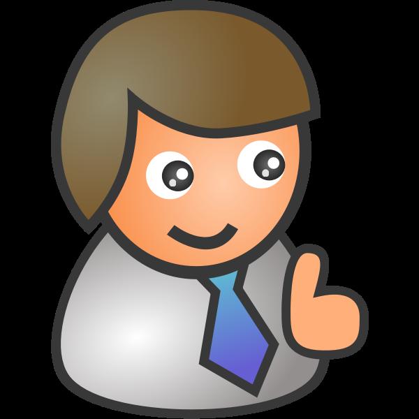 Businessman icon avatar vector image