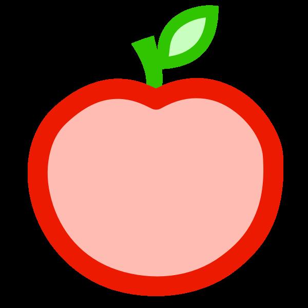 Apple icon vector graphics