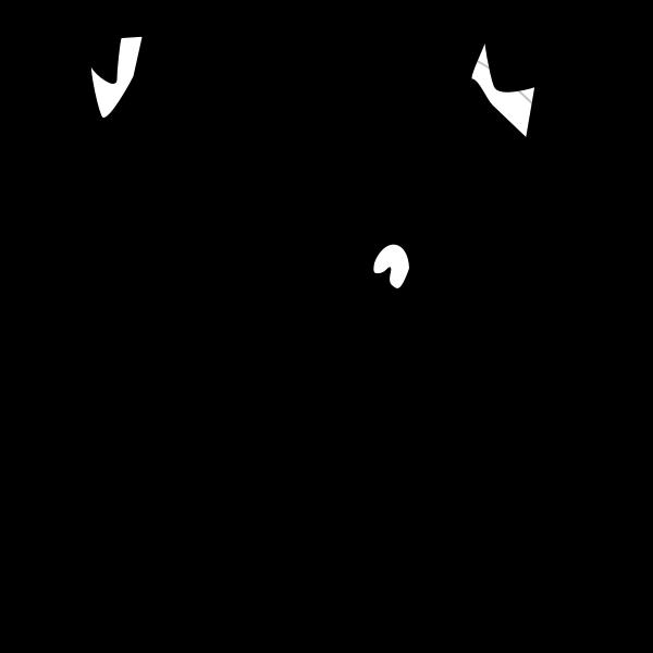 Shojo girl vector illustration