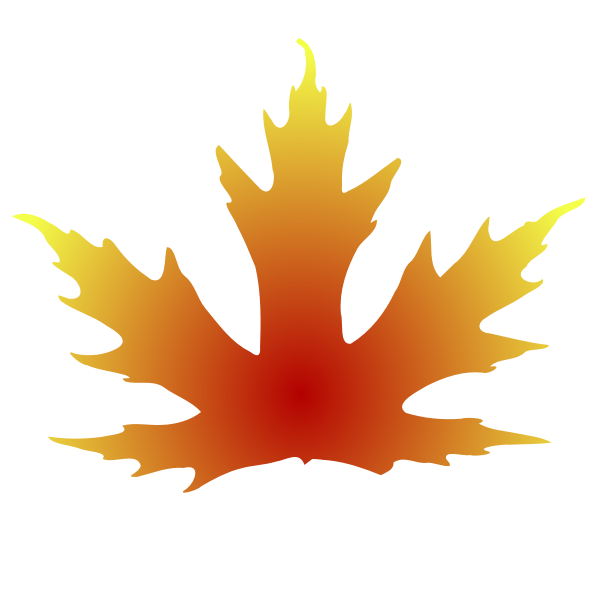 Maple leaf vector clip art