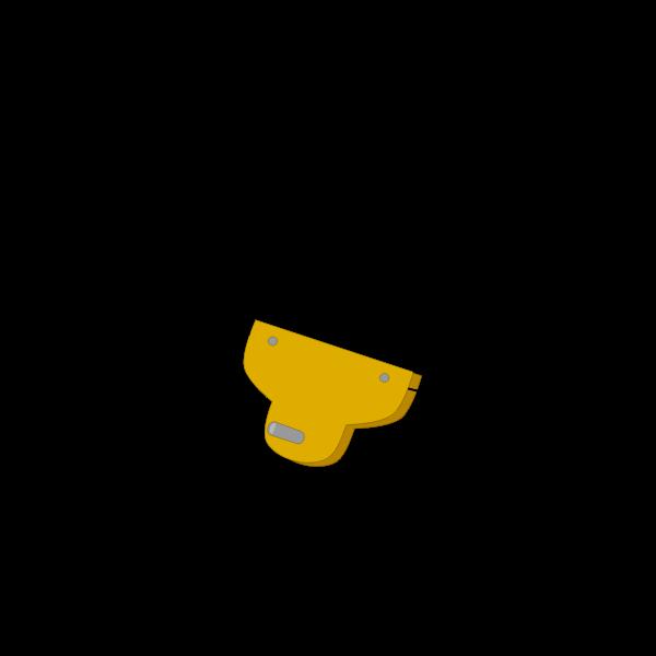 Zip-line vector image
