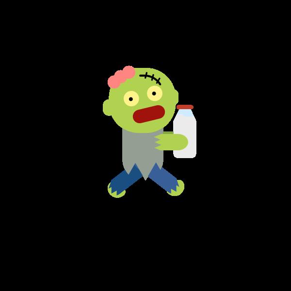 zombie milk character