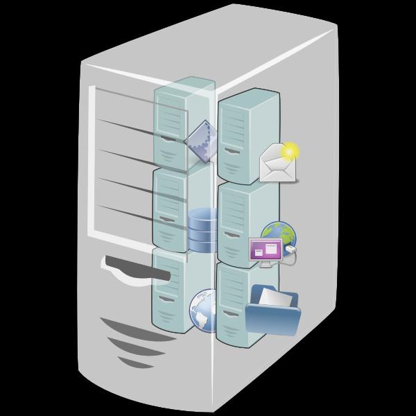 Virtual machine host