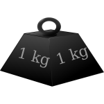 1 kg weight