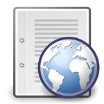 Network server vector icon