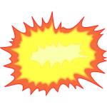 Explosion vector illustration