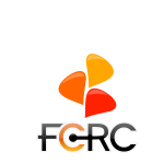 FCRC speech bubble logo and text