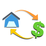 Mortgage graphic concept