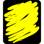 Yellow scribble
