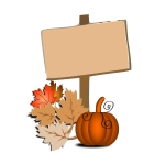 Autumn symbol vector graphics