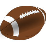 American Football Vector Clip Art