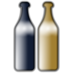 Drunken Wine Bottles