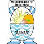 Vector image of emblem of the municipality of Bella Vista