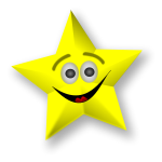 Smiling Star Vector Art