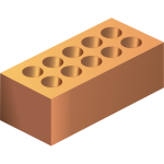 Vector image of construction element