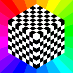 Cube chessboard