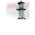 Color vector clip art of a lighthouse