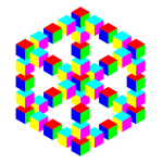 Hexagon cube