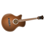 Acoustic guitar vector clip art
