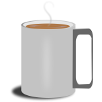 Mug with coffee