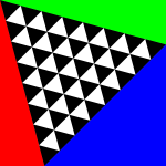 square meets triangles