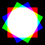 dodecagon color mixing