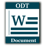 Word processing web vector icon