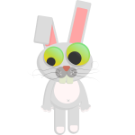 Cartoon Rabbit Clip Art