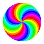 36 circle swirl 12 color