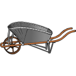 Coal Barrow Vector Image