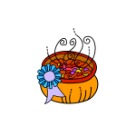 Bowl of chili vector image