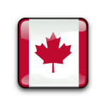 Canadian flag symbol