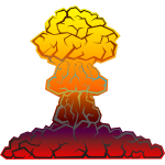 Nuclear explosion image