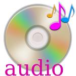 Audio CD vector graphics