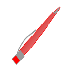 Vector of a pen