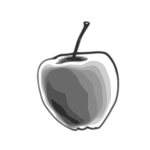 Gray apple
