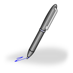 Pen vector graphics