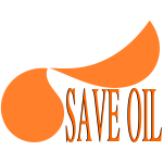 Save OIL - Message with logo