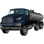 Cistern truck vector illustration