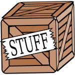 Crate of stuff