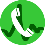 VOIP call icon vector illustration