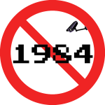 No 1984 style spying vector illustration