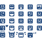 Square emoticons
