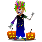 Cartoon Halloween monster